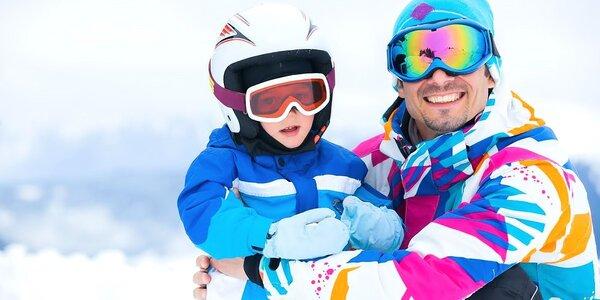 Rodinný oddych a lyžovačka na Orave