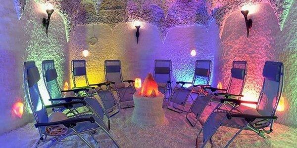 Relax v soľnej jaskyni
