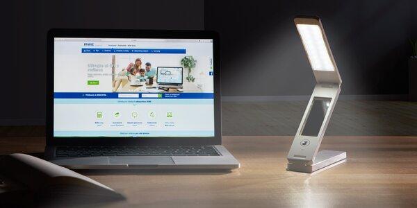 Úsporná LED stolová lampa