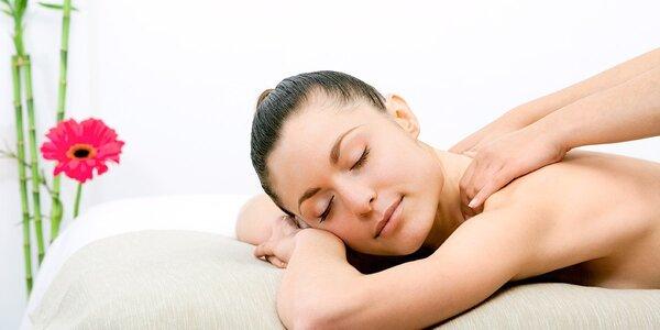 60 min. klasická masáž podľa vlastného výberu