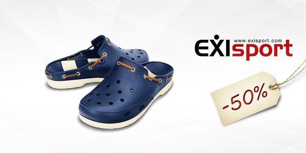 50 % zľava na obuv značka Crocs