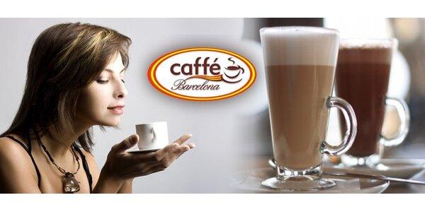 0,65 eur za šálku kvalitnej kávy zo 100% kávy Arabica podľa vlastného výberu so…