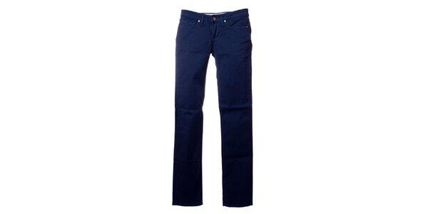 Dámske modré skinny nohavice Refrigue