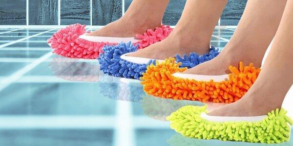 Čistiace mop papuče - čistota každým krokom