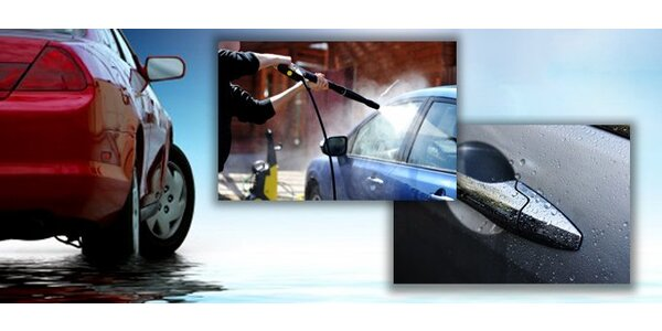 3,60 eur za umytie auta v Bratislave!