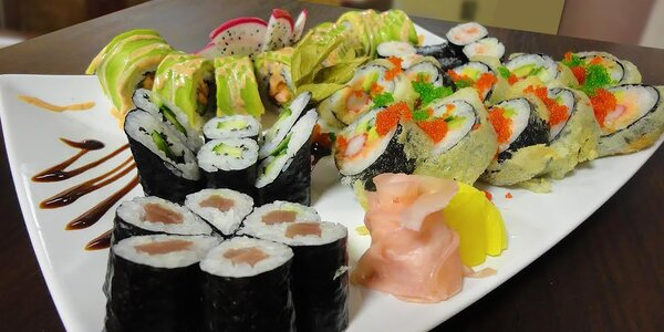 Sushi set 36 kúskov: Rozvoz alebo Take away