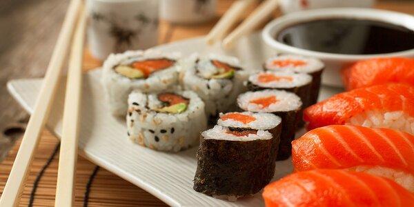Obľúbený sushi set Hanil pre dvoch - 34 kúskov
