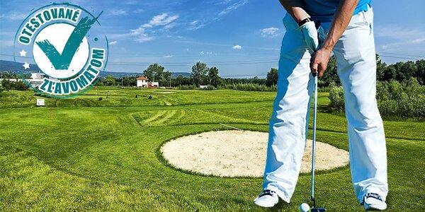 Nad golfovým ihriskom sa zozelenieva
