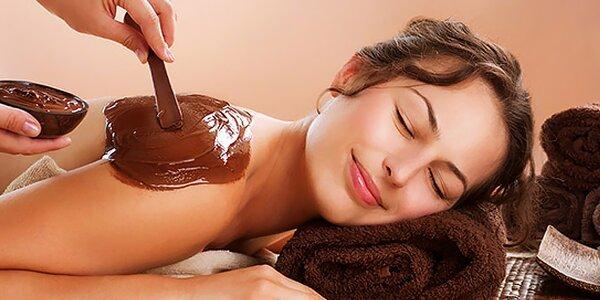 Čokoládová terapia alebo anticelulitídne ošetrenie