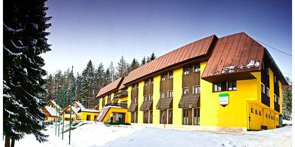 Lyžovačka a relax v horskom hoteli František v Javorníkoch