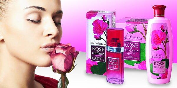 Prírodné kozmetické produkty z damascénskej ruže