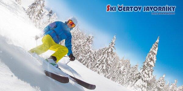 4-hodinový skipas pre 1 osobu v Ski Čertov