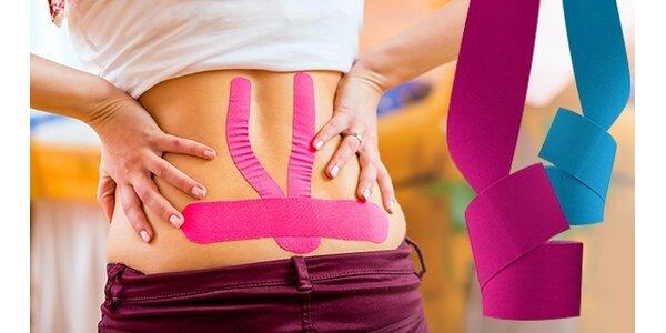 Tejpovacia páska proti bolestiam