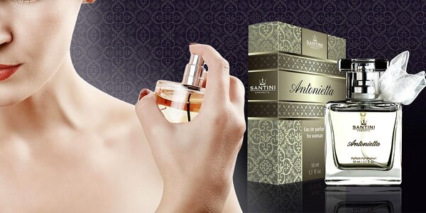 Žiarivá kolekcia parfumov Santini s vôňou luxusu