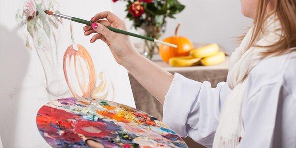 Individuálny kurz kreslenia či maľovania - aj pre pokročilých