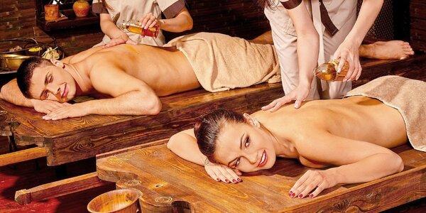 Luxusné ayurvédské masážné balíky v salóne Asana