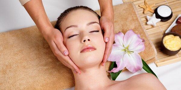Relaxačné ošetrenie tváre, dekoltu a chrbta