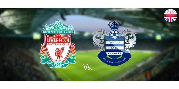 Vstupenka na futbalový zápas Liverpool FC vs. Queens Park Rangers