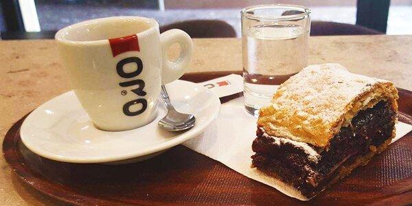 Kvalitné espresso a domáca štrúdľa