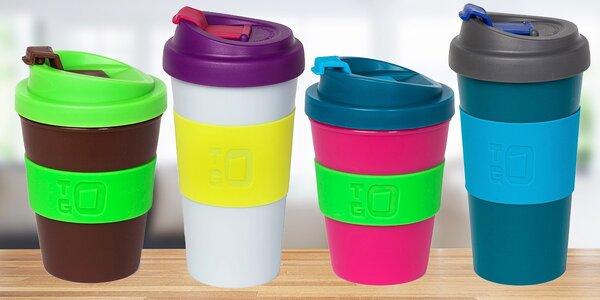 Štýlové a ekologické poháre s uzatvárateľným viečkom To Go