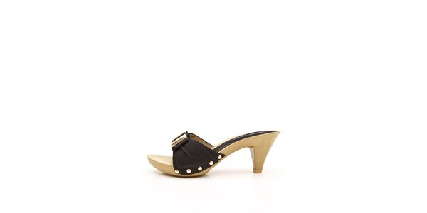 Dámske čierne papuče Boaime