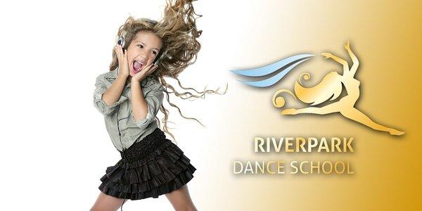 Kurzy moderného tanca pre deti od 5 do 9 rokov - až 40 lekcií!