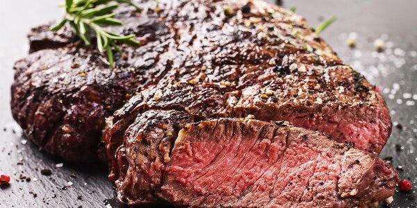 Poriadne veľký Rib eye steak z vysokej roštenky