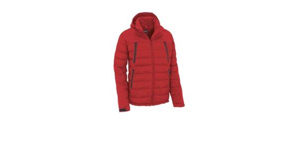 Pánska červená prešívaná bunda Maier