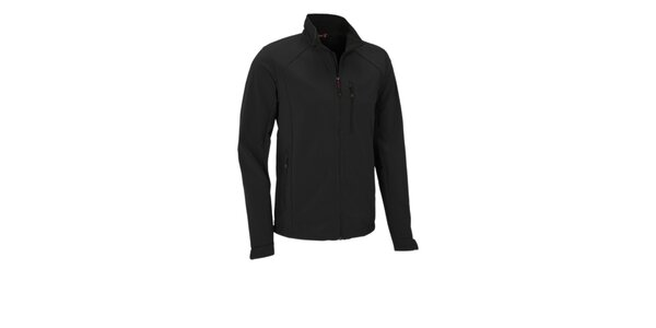 Pánska čierna softshellová bunda Maier s membránou