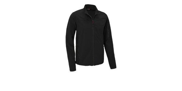 Pánska čierna softshellová bunda Maier