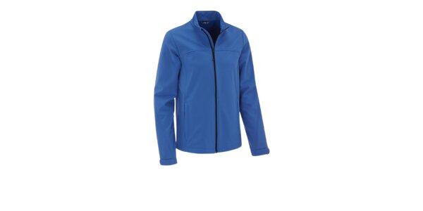 Pánska žiarivo modrá softshellová bunda Maier s membránou