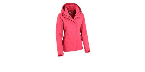 Dámska ružová bunda Maier s nepremokavou membránou