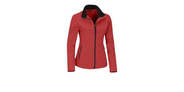 Dámska červená softshellová bunda Maier s membránou