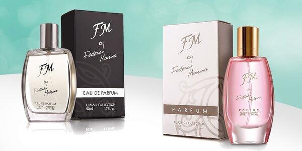 Dámske a pánske parfumy so svetovou vôňou