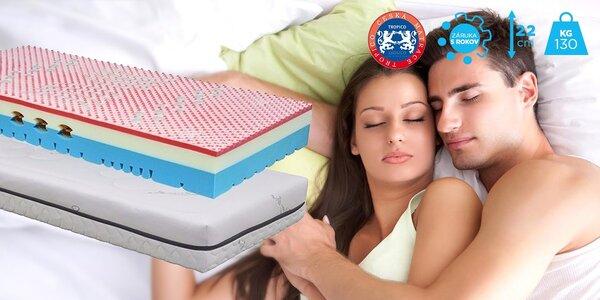Komfortné matrace Tropico Geltech® Omega