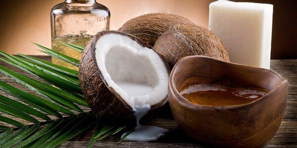 Panenský kokosový olej lisovaný za studena