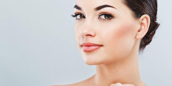 Liftingové ošetrenie pleti aj s líčením alebo hĺbkové čistenie s masážou rúk