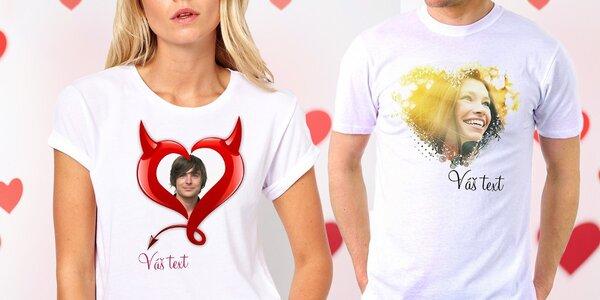 Originálne tričká pre zaľúbených