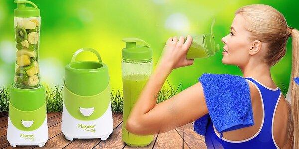 Zdravé nápoje s mixérom Smoothie maker