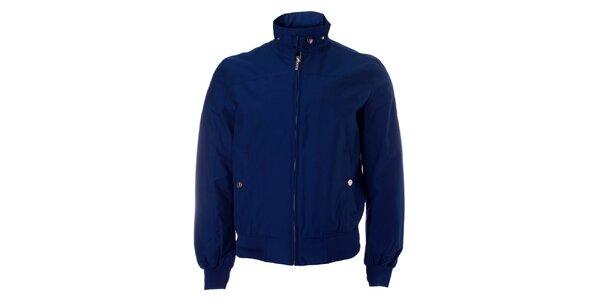 Pánska tmavo modrá jarná bunda Refrigue