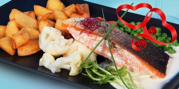 Valentínske 3-chodové menu v Bulvaar Restaurant