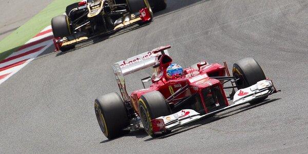 Jazda na trenažéri Formuly 1