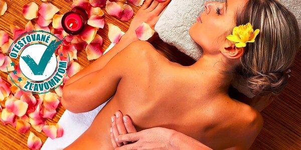 Ozdravná masáž chrbta, manuálna lymfodrenáž či kráľovská procedúra! Teraz i…