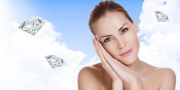 Diamantová mikrodermabrázia alebo skin scrubber