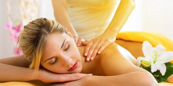 Klasická relaxačná masáž aj so zábalom