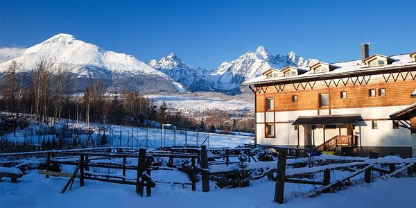 Zima v novozrekonštruovanom hoteli EUFÓRIA***