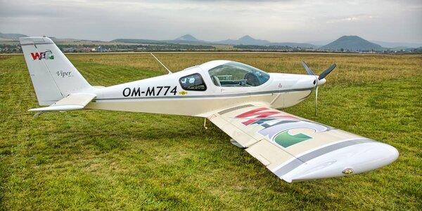 Darček! Let lietadlom Viper SD4 s možnosťou pilotovania