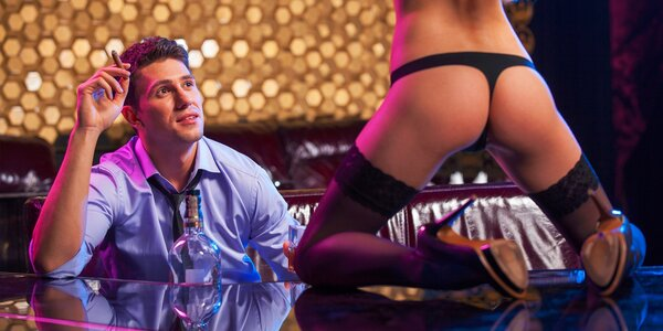 Súkromný strip tanec vo VIP salóniku v BOOBIES club