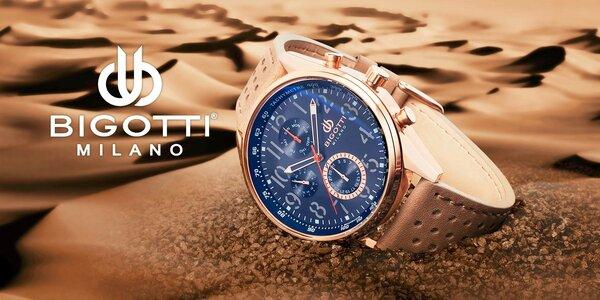 Pánske štýlové hodinky Bigotti Milano
