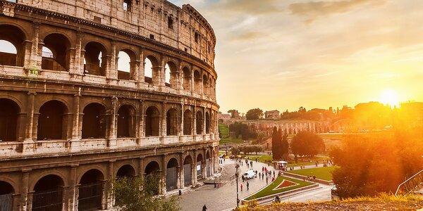 Letecký poznávací zájazd do večného Ríma na 4 dni!